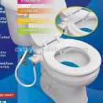 White Simple Cold Bidet New Toilet Seat-SX-3003