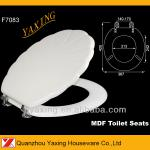 Yaxing F7083 stainless steel hinges custom MDF toilet seat-F7083