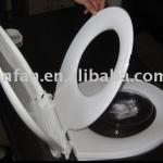 soft-closing toilet seat&family toilet seat-