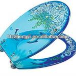 beautiful polyresin toilet seat-ZYPOLY-05