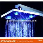 2013 high quality brass shower LED faucet-QYX2904