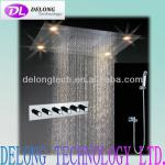 CE remote control change color stainless steel led top shower-DL-shower-BD012