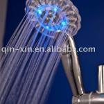 Multifunctional LED shower head with water saving-QX-KE002T(LED)