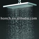 luxury rectangle brass rain shower head for ceiling mounted-hs315b