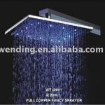 Square brass shower head-WT-2091