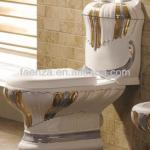 bathroom complete set decorated two toilet water closet-T-3061A2,B-3061A2,P-3061A2