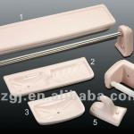 Pink bathroom ceramic accessories set-G014-D