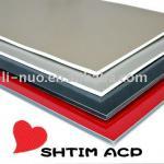 2mm~6mm :PE/PVDF aluminum composite panel/High quality plastic core