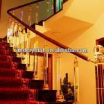 acrylic decorative staircase rails