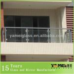 Balcony Railing Design Glass With Best Price From Factory