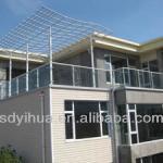 beatiful aluminum balcony guardrail for villa