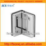 brass bathroom glass clampBLJ-034,sanitary hardware double brass shower room glass clip