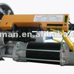 Central motor for roller shutter