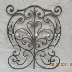 china factory hand made wrought iron flower panels