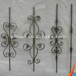 china manufacturer 1000mm custom wrought iron balusters design