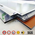 China Top Brand 3-5mm aluminum sandwich panel for wall system