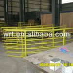 China yellow steel made structured welding balustrade and handrails