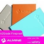 facade materials aluminum A2 grade fireproof acp construction material