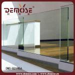 frameless glass railing for porch/deck/balcony