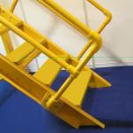 frp handrail and stair system, weatherproof, low maintain cost