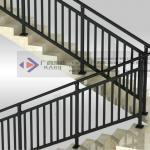 Galvanized Steel Indoor Stair Railings