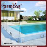 glass pool fence design from Demose