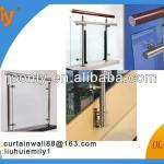 handrail post support