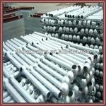HDG steel railing