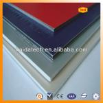high quality aluminium composite panels with 3mm 4mm 5mm thickness