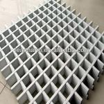 High quality sound absorption school/rail way station/shopping mall/hall/airport/metro decorative grid aluminum ceiling tiles