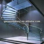 Modern design Glass staircase with CE,TUV,ISO Approval