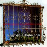 Most fashion house window grill design of wrought iron