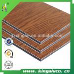 non oxidization aluminum composite sheet/wooden panel
