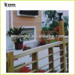 Outdoor aluminum railing modern designs for balcony and patio