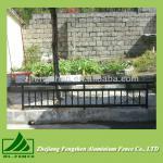 Outdoor black balcony handrail