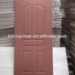 Plywood molded door skin with artificial sapele Okoume Walnut
