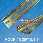 RCCN Steel Din Rail,Zinc Coated Din Rail,Metal Din Rails