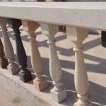 RD polyurethane faux stone balustrade and handrail