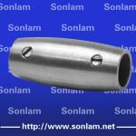 round steel tube connectors