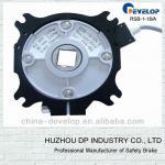 Safety brake for roller shutter motor