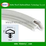 slot type rubber strip door seal