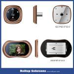 Smart Door Peephole Viewer With Wide Angle Scope Ihome 2