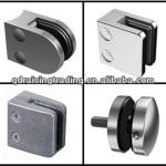 Stainless steel glass clamp, glass fitting, glass holder