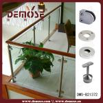 Stainless Steel Handrail Fittings for Glass Railing Systems