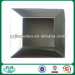 Stainless steel plate cover for spigots and post