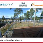 Stainless steel tempered glass railings/balustrades (LCH-R50)