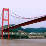 Steel Cable Suspension Bridge