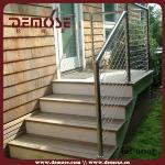 steel wire balustrade stair railing simple design