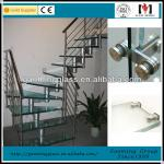 The competitive glass stairs price /Low price/high quality DS-LP485