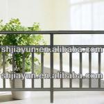 various sizes 6063 t5/t6 anodized aluminium balcony railing aluminum products